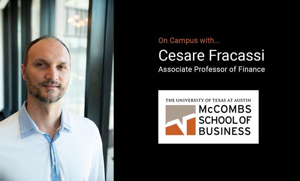 Professor Cesare Fracassi Speaks On The Expanding Blockchain Initiative