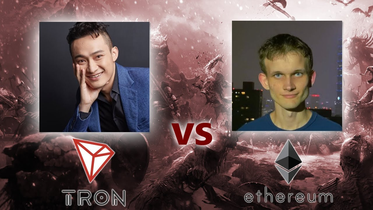 The Cold TRON And Ethereum War