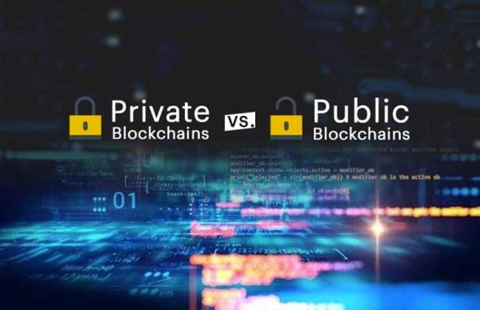 The Difference Between Private And Public Blockchain